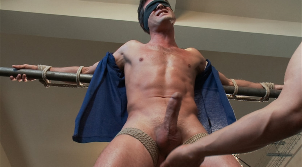 lance hart straight stud bondage balls busting begging to